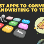 Best apps to convert handwriting to text