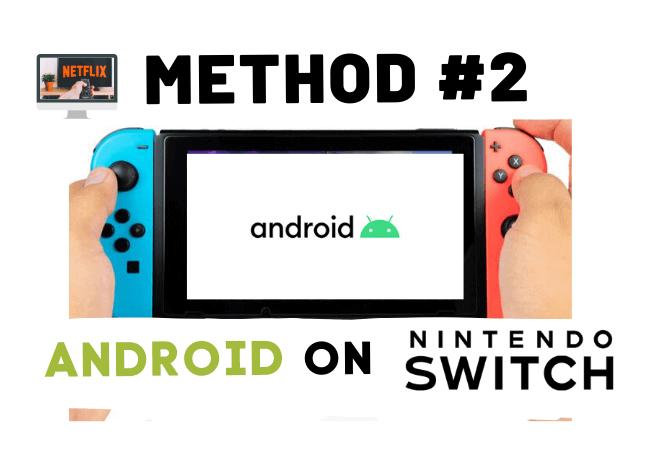 Alternate way to watch netflix on switch