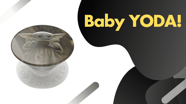 Baby Yoda_ Best Pop Socket for star wars fans (colors and patterns)