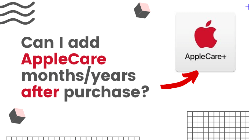 Can I add AppleCare months or years after purchase for iMac