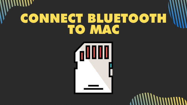 Connect Bluetooth to Mac (Micro SD Card slot for iPhone alternative)