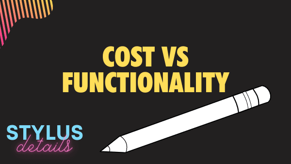 Cost vs Functionality