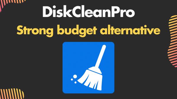 DiskCleanPro - Strong budget alternative