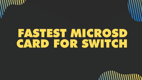 Fastest microSD Card for switch