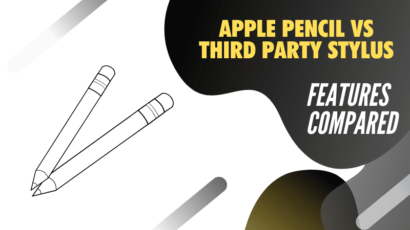 Features compared for iPad Air stylus Apple Pencil vs cheap alternatives 2