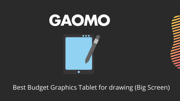 GAOMON PD22_ Best Budget Graphics Tablet for drawing (Big Screen)