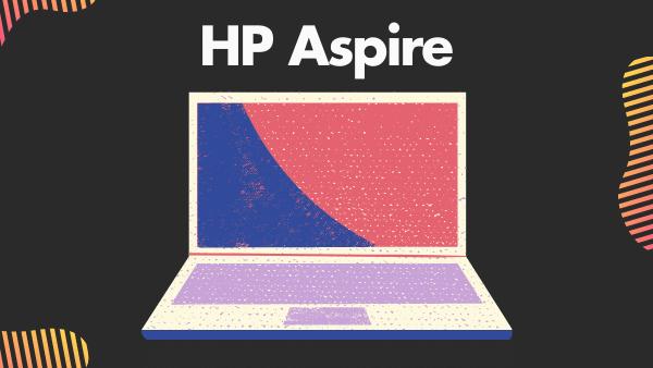 "HP Aspire 15.6"""