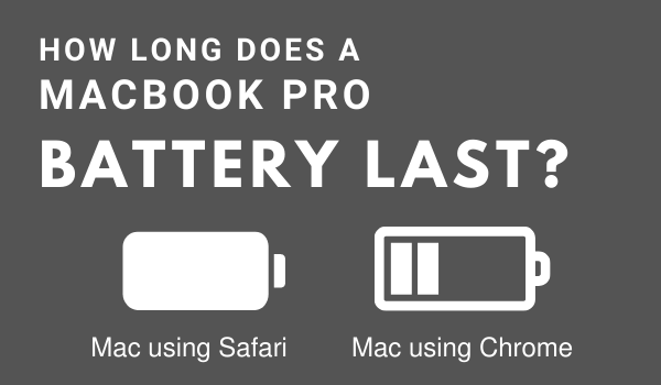 How long a Macbook Pros battery lasts over time
