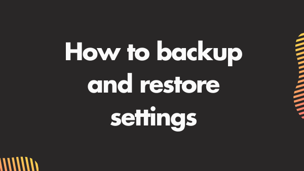 How to backup the fire hd when alexa or apps stop working