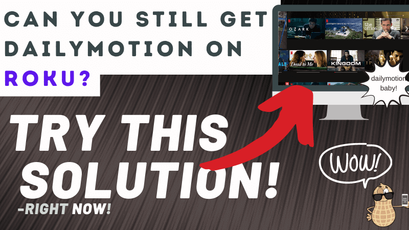 How to get Dailymotion on Roku