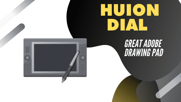 Huion Dial Q620_ Best Adobe photoshop draw pad for Artists (Wireless)