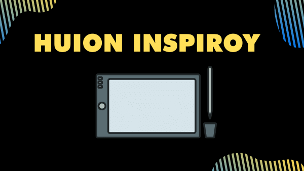 Huion Inspiroy_ Best Wireless Graphic Drawing Tablet (Mid Tier)