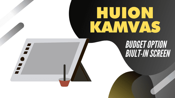 Huion KAMVAS Pro 12_ Best Budget Tablet for Sketching in Adobe Photoshop & Illustrator (with screen)