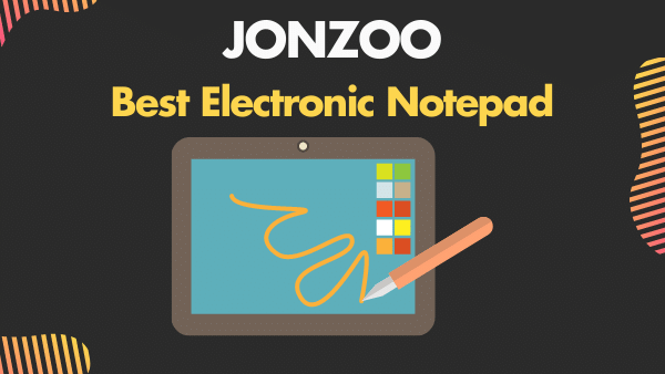 JONZOO_ Best Electronic Notepad (with Pen)