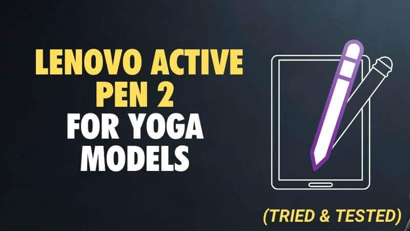 Lenovo Active Pen 2 for Yoga