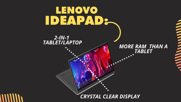 Lenovo IdeaPad Flex 5 14 - Most affordable 2-in1 tablet for Netflix