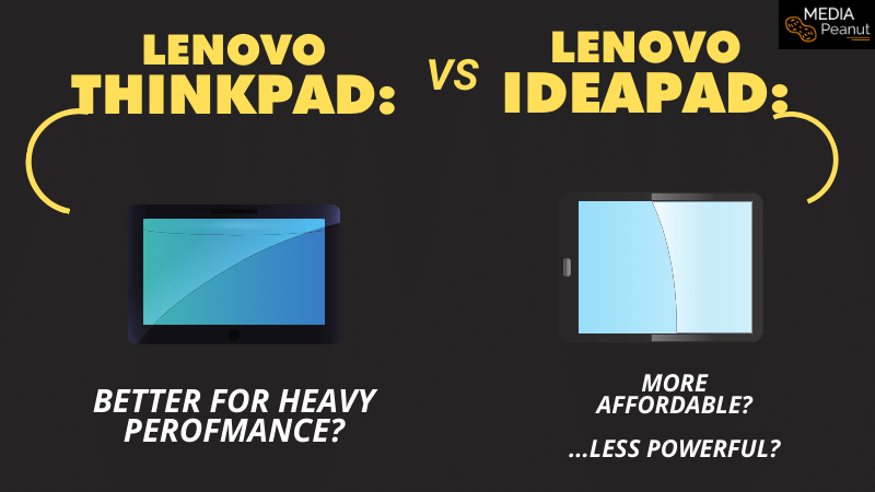 Lenovo Thinkpad vs Ideapad What is the difference between them 2