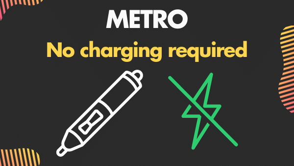 METRO_ Best stylus for touchscreens with no charging required
