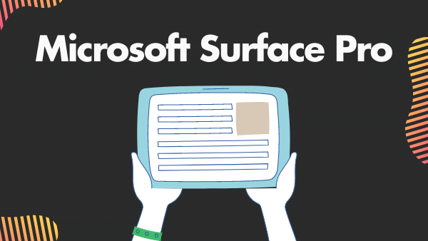 Microsoft Surface Pro 7_ Best Premium Tablet to use Instagram and TikTok on (with keyboard)