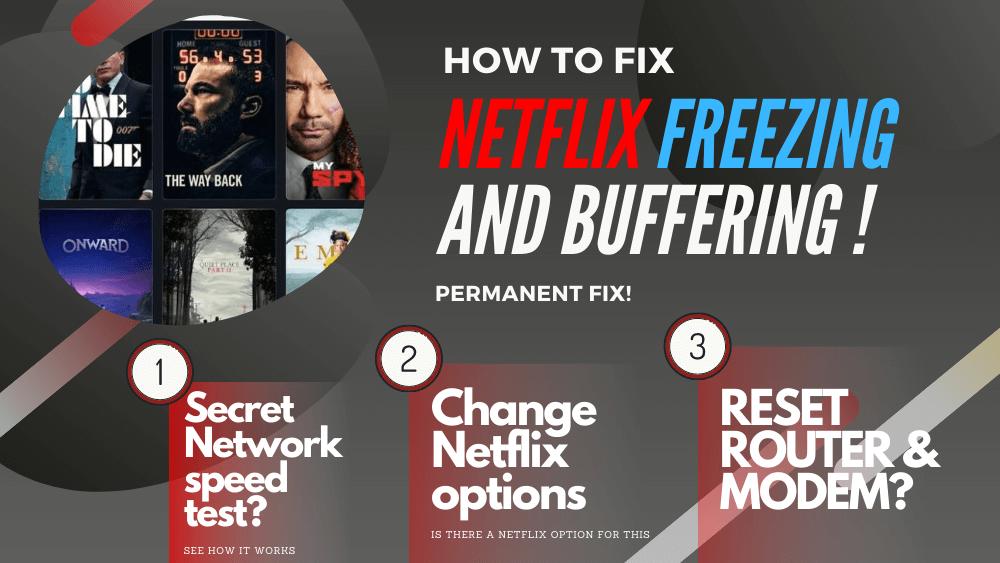 Netflix keeps freezing