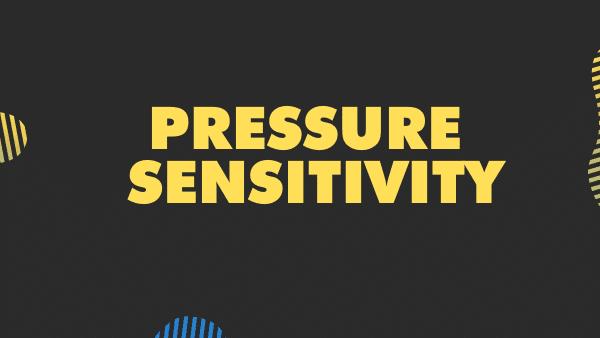 Pressure sensitivity procreate stylus feature