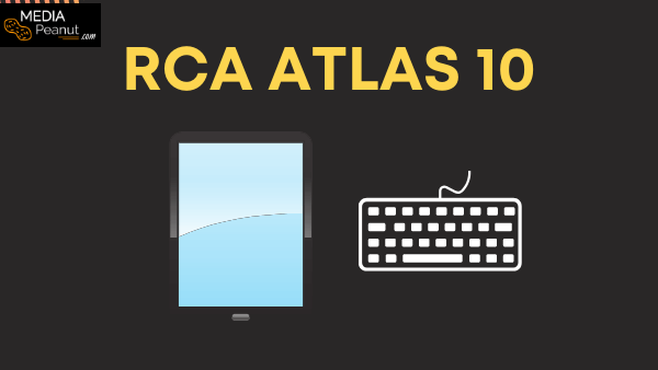 RCA Atlas 10 Pro Best Cheap Tablet For Netflix under $200 with a detachable keyboard