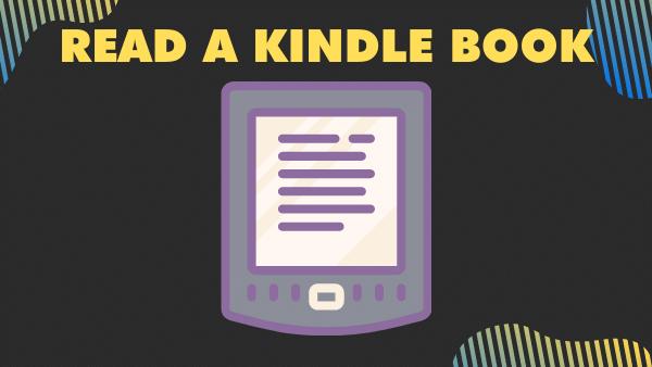 Read a Kindle book