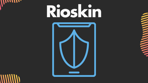 Rioskin_ Top Amazon fire HD 8 tablet case with a hand strap