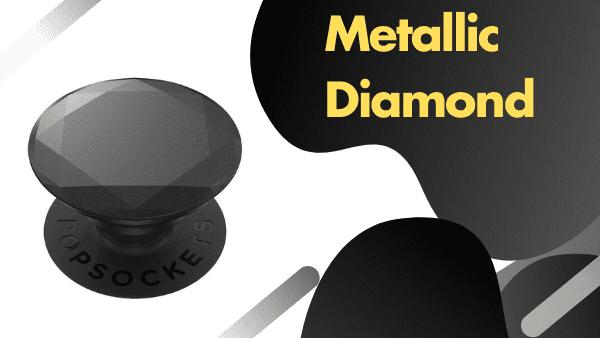 Runner up_ Metallic Diamond pop socket crisp cool