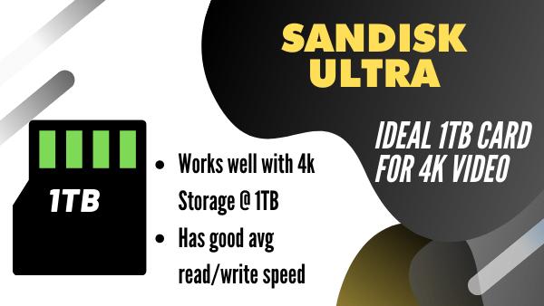 SanDisk Ultra_ Best budget 1TB micro SD 4k Video transfer (512Gb, 1TB)