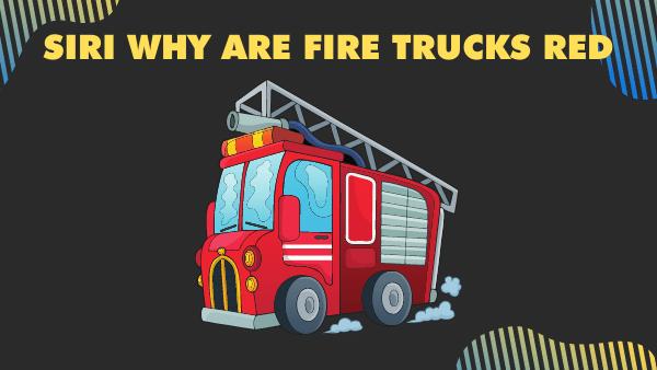 Siri Fire Trucks Red