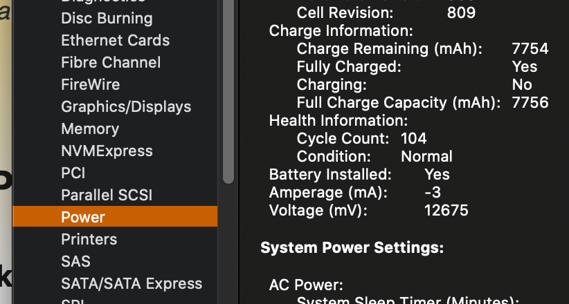 Step 3 battery life cycle how to check