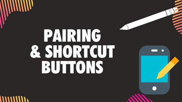 Surface Pen vs Apple Pencil 1 & 2 pairing and shortcut buttons