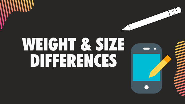 Surface Pro vs Apple iPad weight and size differences