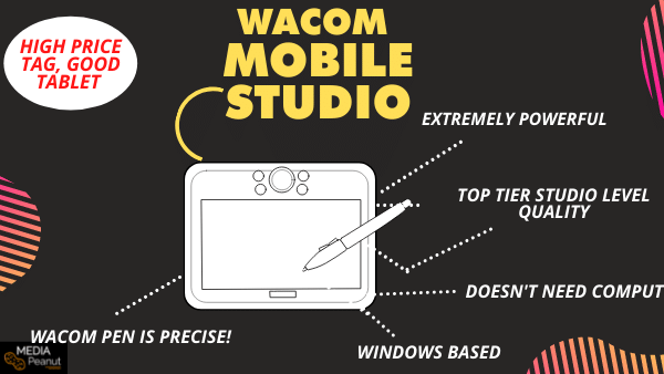 Wacom Mobile Studio Pro_ Best Wacom cintiq alternative (no computer needed)