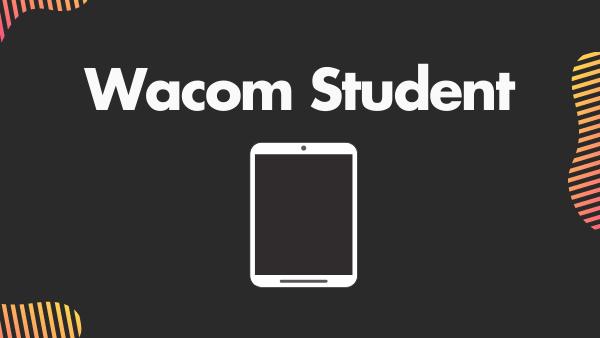 Wacom Student Best Digital Art Tablet for Beginners