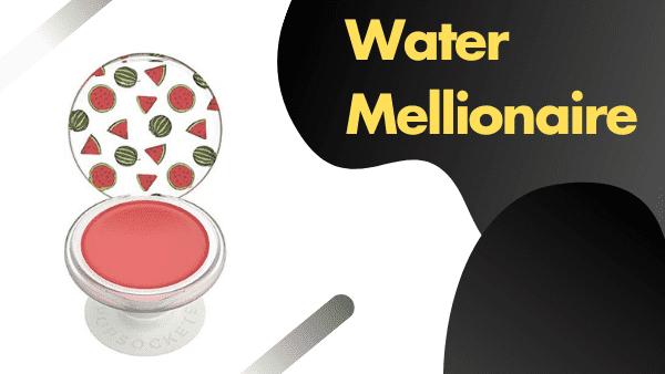 Watermellionaire Coolest custom Pop Socket color & pattern (Lip balm attached2 watermelon pop grip