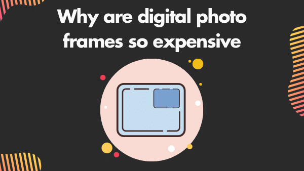 Why are digital photo frames so expensive_