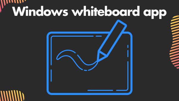 Windows whiteboard app