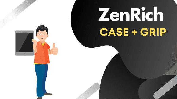 """ZenRich Best iPad Air Case with Hand strap (10.9"""")"""