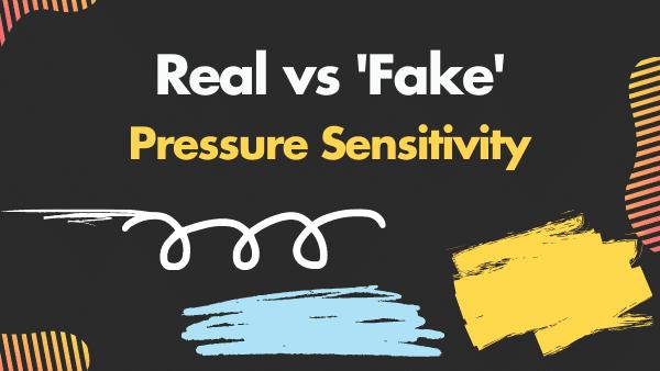 active vs capacitive vs Real vs 'fake' pressure sensitivity the difference