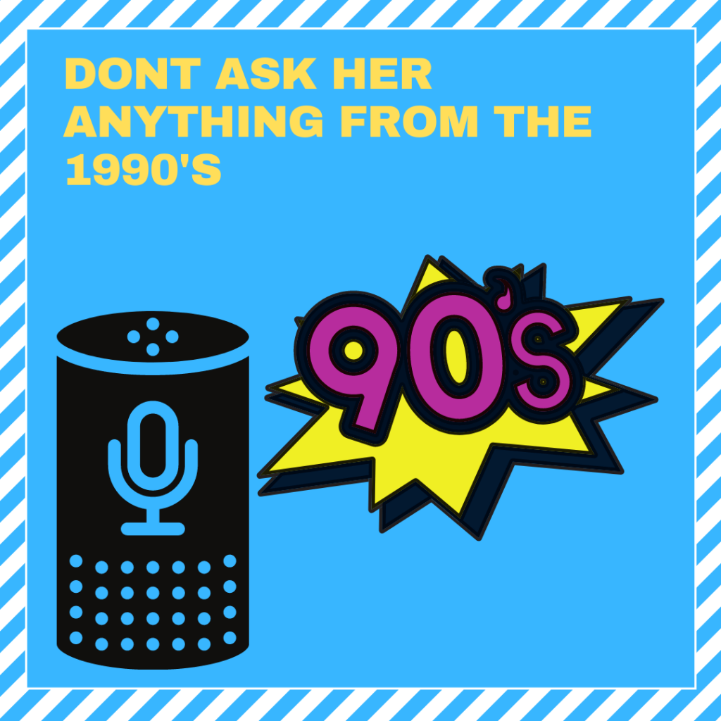 ask alexa about the 1990s