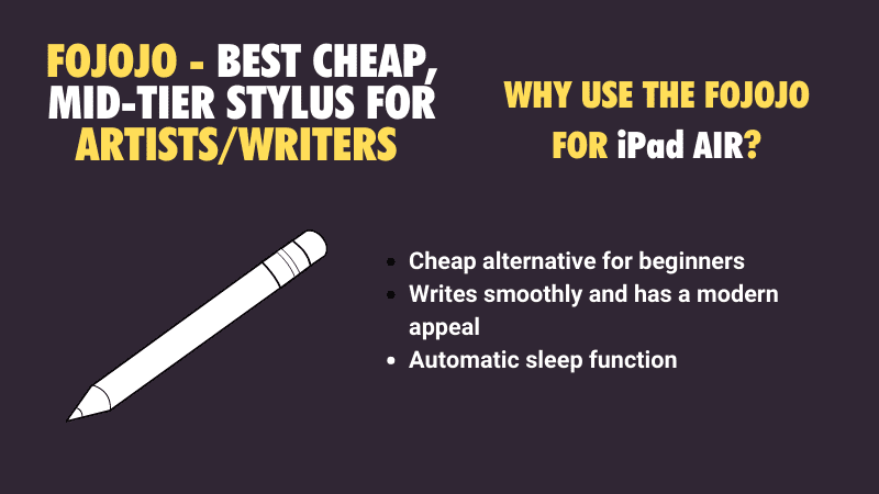 cheapest stylus for the iPad Air and iPad models