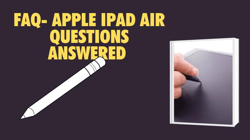 faq 2 iPad Air stylus