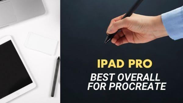 iPad Pro Overall Best iPad for Procreate (digital artwork)