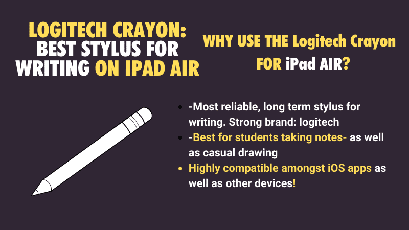 most reliable stylus pen for the apple iPad air 4 iPad 3 iPad 2 2