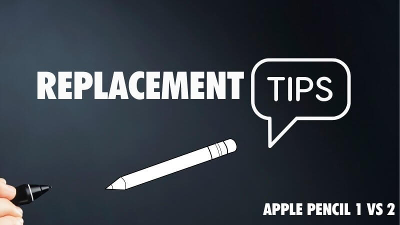 replacement tips differences between 1 and 2